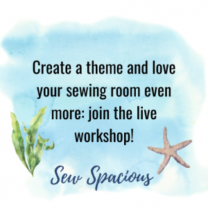 social share image for sewing room theme live workshop